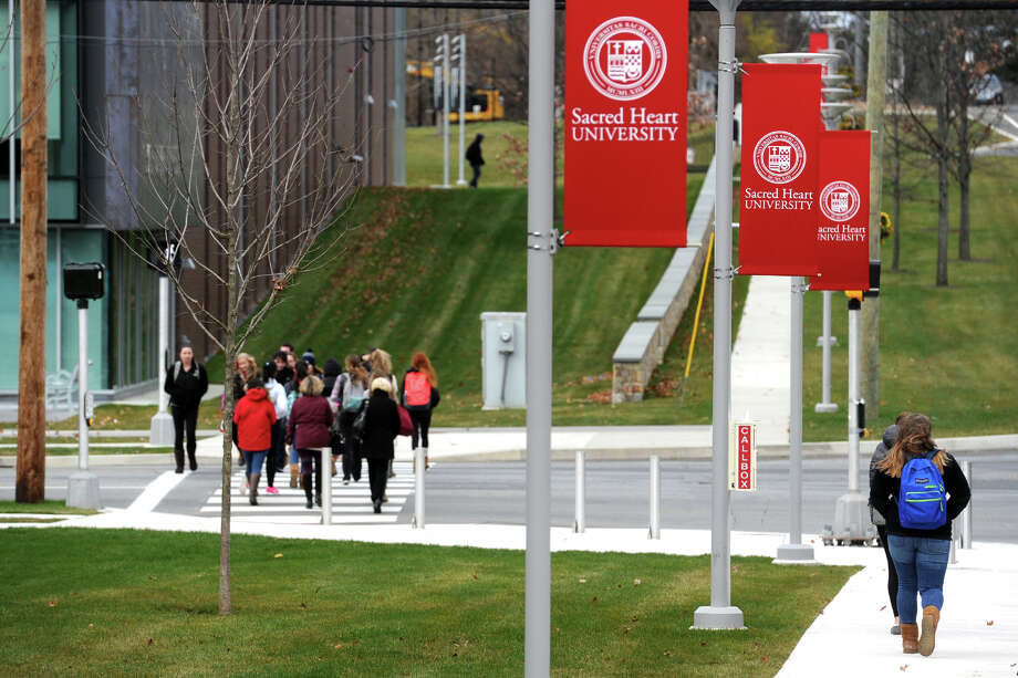 The Sacred Heart University campus in Fairfield, Conn. Photo: Ned Gerard, Hearst Connecticut Media / Connecticut Post