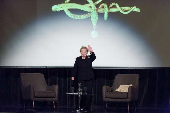 Former Secretary of State Madeleine Albright: Hello to new Americans