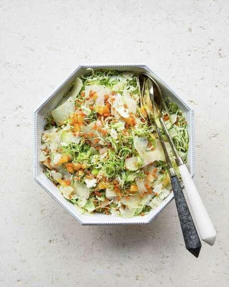 Brussels sprouts salad Photo: Julie Soefer / Julie Soefer Photography