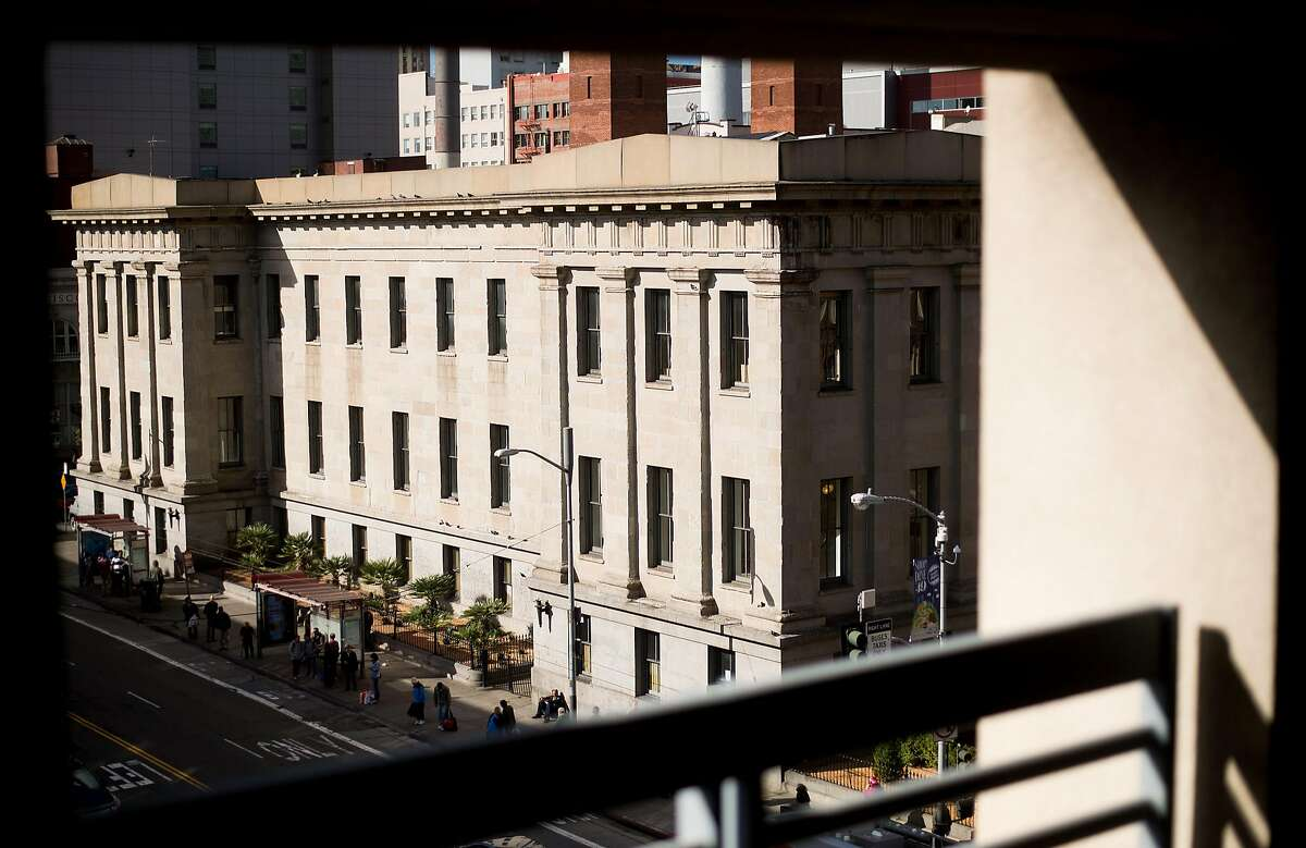 The Old Mint building is pictured at 5th and Mission Streets in San Francisco on Monday, Nov. 21, 2016.