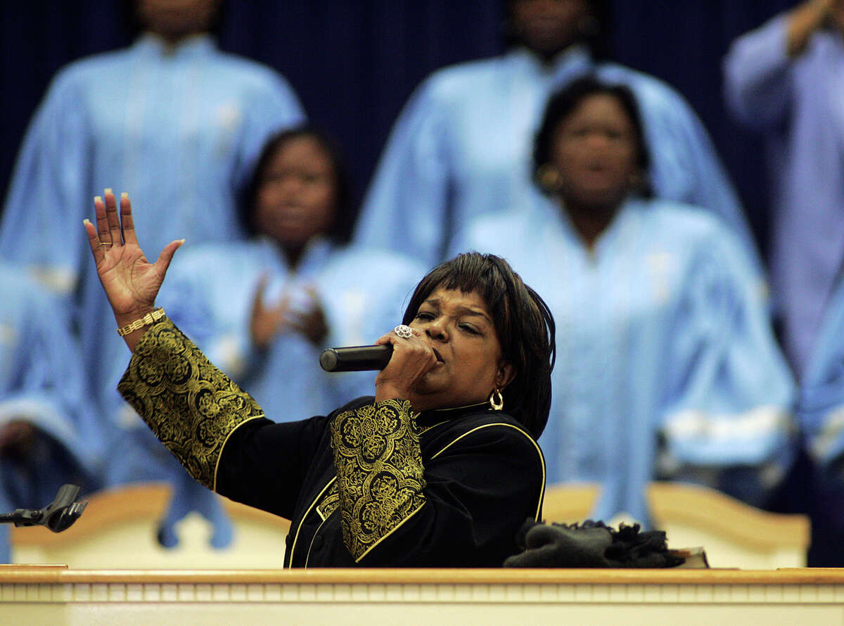Gospel singer Shirley Caesar says it's mind-boggling that the remix of her
