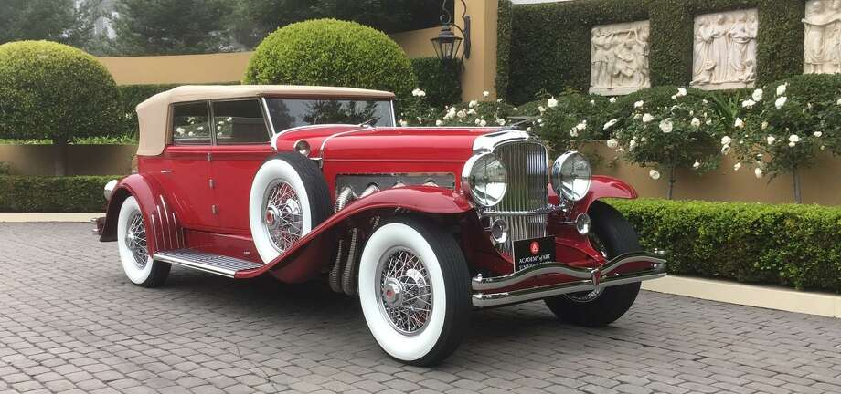 The 1930 Duesenberg Convertible Sedan will be one of the cars on display at the Academy of Art University vintage car exhibit at the International Auto Show.