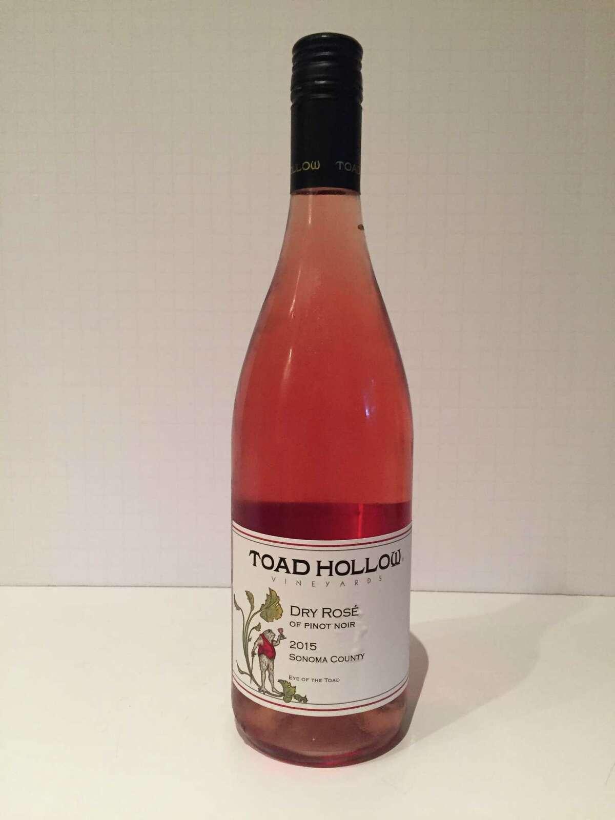 2015 Toad Hollow Vineyards Rosé