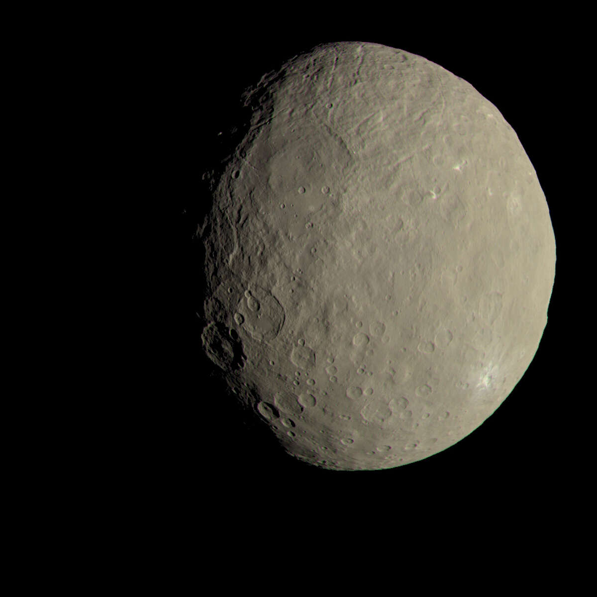 During its sixth orbit of Ceres, NASA's Dawn spacecraft recently snapped dozens of images of the dwarf planet, the largest object between Mars and Jupiter. Click through to see pictures of Ceres.