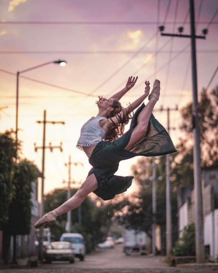 Omar Z Robles, who often uses bustling streets his photography studio, spent two weeks in Mexico capturing the country's best ballet dancers to disprove some of president elect Donald Trump's previous rhetoric on immigrants. Photo: Provided By Omar Z Robles