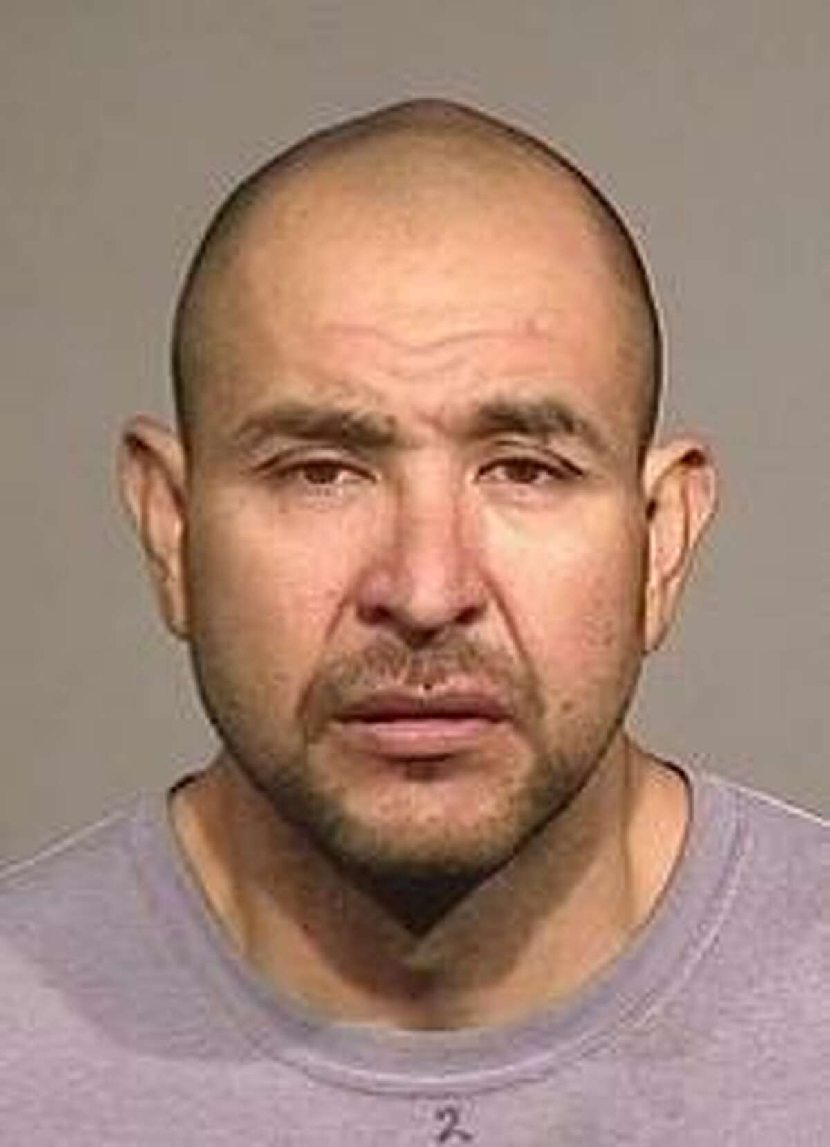 Gerardo Mendoza Ordaz, 42, was arrested on suspicion of drowning his 4-year-old daughter in the baptismal font of a Catholic church in Healdsburg across the street from a police station.