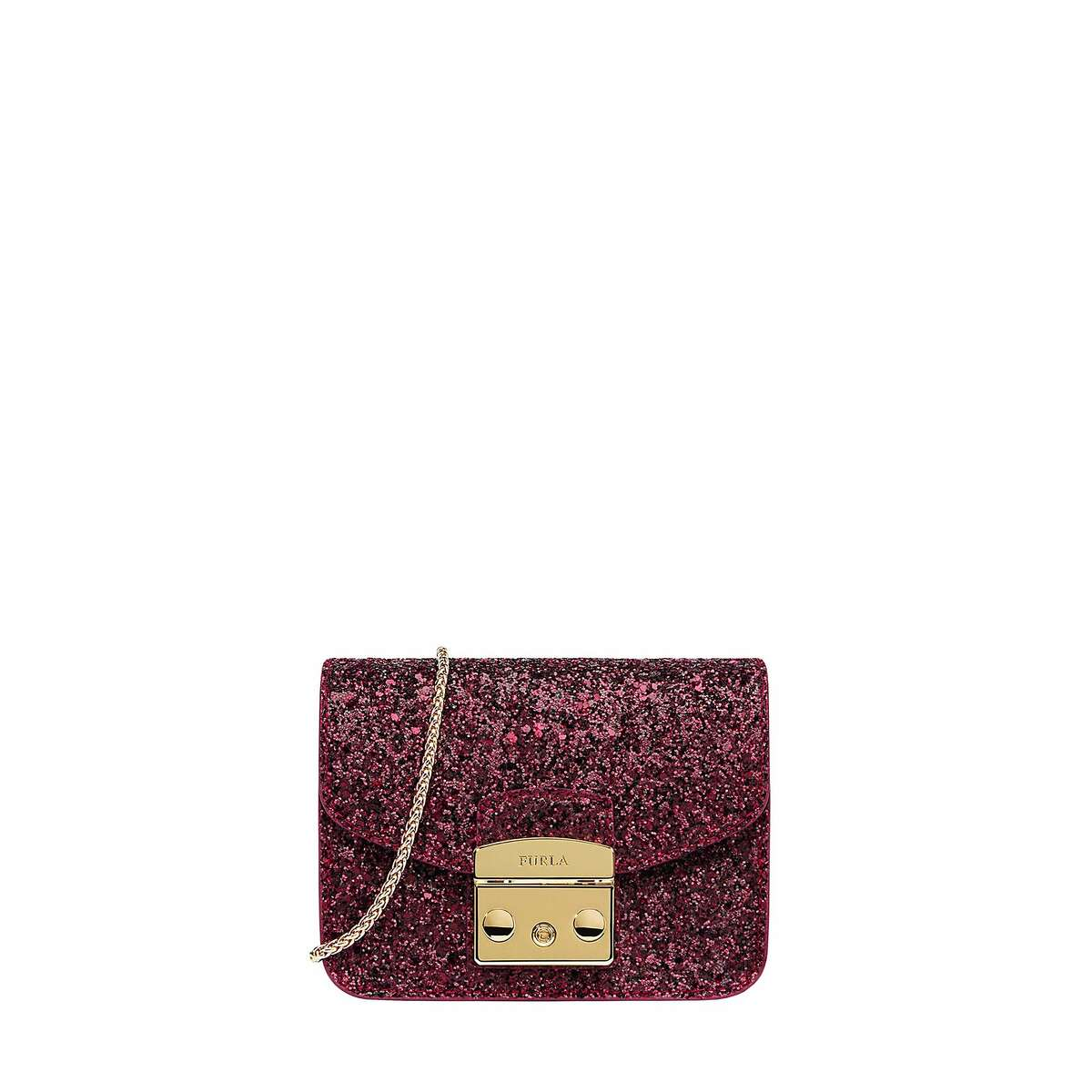 Furla, the Italian accessories maker, has opened a new popup on Union Square that will operate through fall of 2017 at 216 Stockton St. �Among the new items for autumn/winter 2016 is this Metroplis Bolero mini crossbody bag in sparkling red.