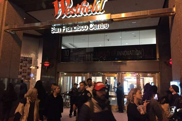 Shoppers at the Westfield Mall had to be evacuated after a small fire. No injuries were reporter.