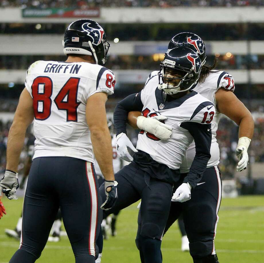 OverallThe Texans could have upset the Raiders. They led 17-13 in the fourth quarter before they allowed two long Derek Carr touchdown passes when their defenders just seemed to run out of gas in the high altitude.Grade: C Photo: Brett Coomer, Houston Chronicle / © 2016 Houston Chronicle