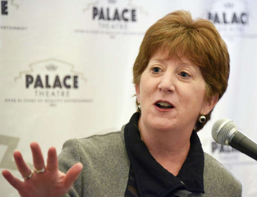 Mayor Kathy Sheehan at the Palace Theater Thursday Oct. 13, 2016 in Albany, NY. (John Carl D'Annibale / Times Union)