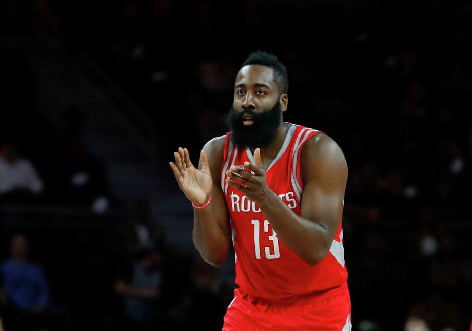 James Harden had 26 points, 12 rebounds and 14 assists in the Rockets' first meeting of the season against the Trail Blazers. Photo: Paul Sancya, Associated Press / Copyright 2016 The Associated Press. All rights reserved.