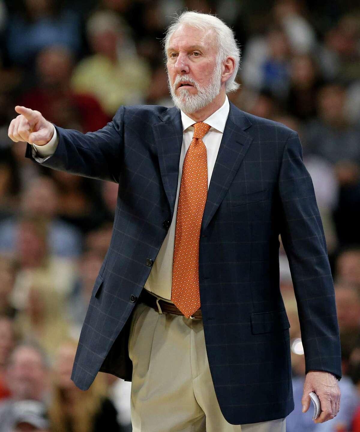 San Antonio Spurs head coach Gregg Popovich received 25 write-in votes.