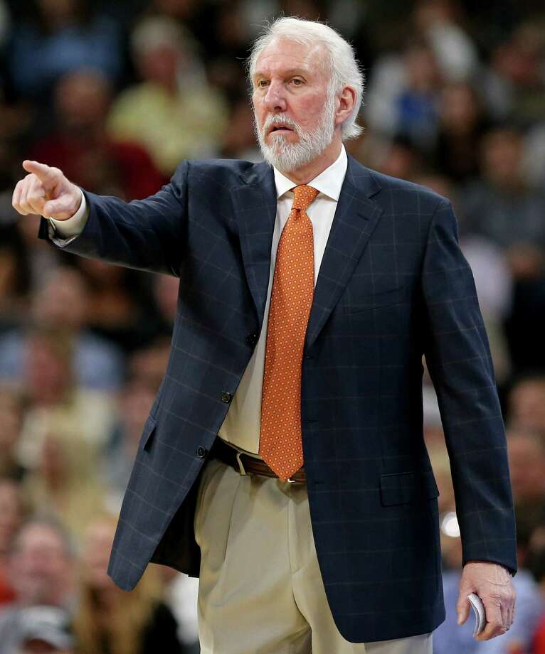 San Antonio Spurs head coach Gregg Popovich received 25 write-in votes. Photo: Edward A. Ornelas, San Antonio Express-News / © 2016 San Antonio Express-News
