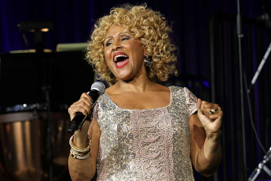 "FILE - In this Oct. 17, 2013 file photo, singer Darlene Love performs at the ""Right To Rock Benefit"" at Cipriani Wall Street in New York. Love will sing ""Christmas (Baby Please Come Home)"" for the 21st and final time on Letterman's annual holiday show. He's retiring from the ""The Late Show with David Letterman"" next May. (Photo by Greg Allen/Invision/AP, File) Photo: Greg Allen, Associated Press"