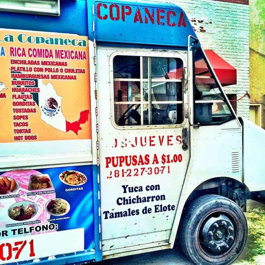 A Houston taco truck that sells both Honduran and Mexican food. Photo: David Leftwich / Sugar & Rice