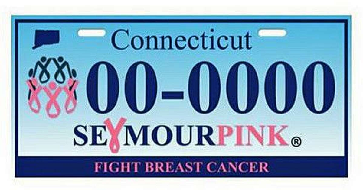 Seymour Pink hopes to get 400 paid applications to get a fight breast cancer license plate from the state Department of Motor Vehicles. The DMV requires at least 400 paid applications for the new plate before they will begin production.