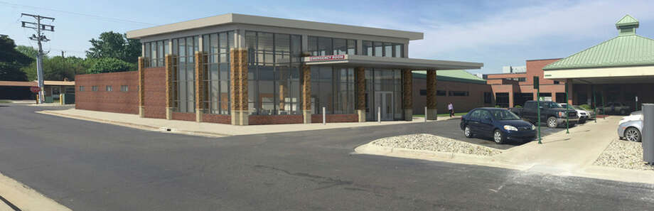 A rendering of the new McLaren Central Michigan emergency department.