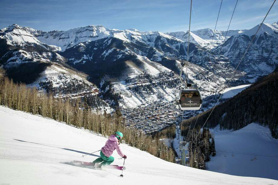 Telluride Ski Resort has something for everyone to enjoy both on and off the snow. Photo: Ben Eng /TNS / Telluride Ski Resort