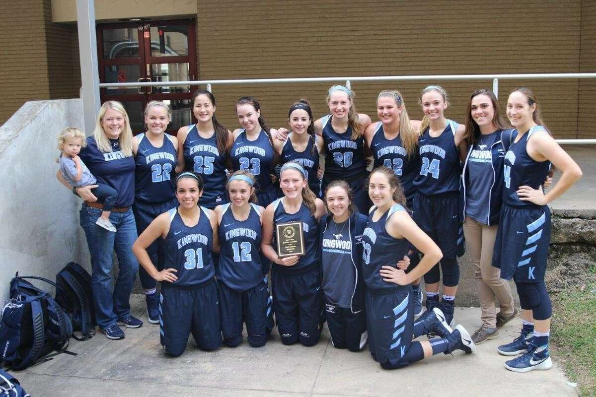 The Kingwood girls basketball team won their division of the Baytown Lee tournament.