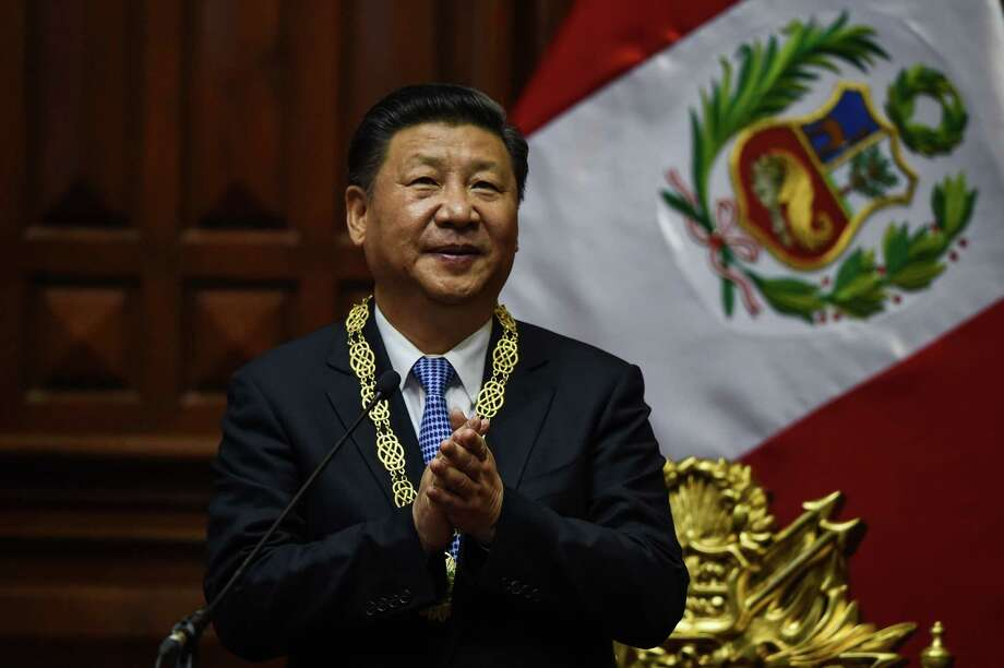 "Chinese President Xi Jinping: ""China will not shut its door to the outside world but open more."" Photo: CRIS BOURONCLE, Staff / AFP or licensors"