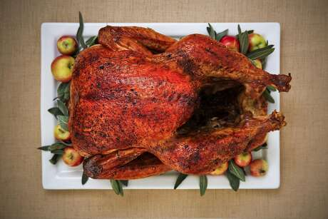 The Chronicle's Best Way Brined Air-Chilled Turkey is seen on Wednesday, Nov. 9, 2016 in San Francisco, Calif.