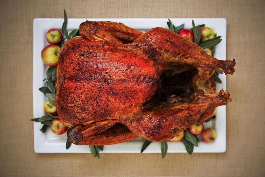 The Chronicle's Best Way Brined Air-Chilled Turkey is seen on Wednesday, Nov. 9, 2016 in San Francisco, Calif. Photo: Russell Yip, The Chronicle
