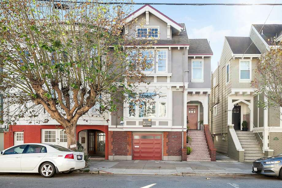4639 California St. is a three-bedroom, three-bathroom Edwardian available for $2.25 million. Photo: Open Homes Photography