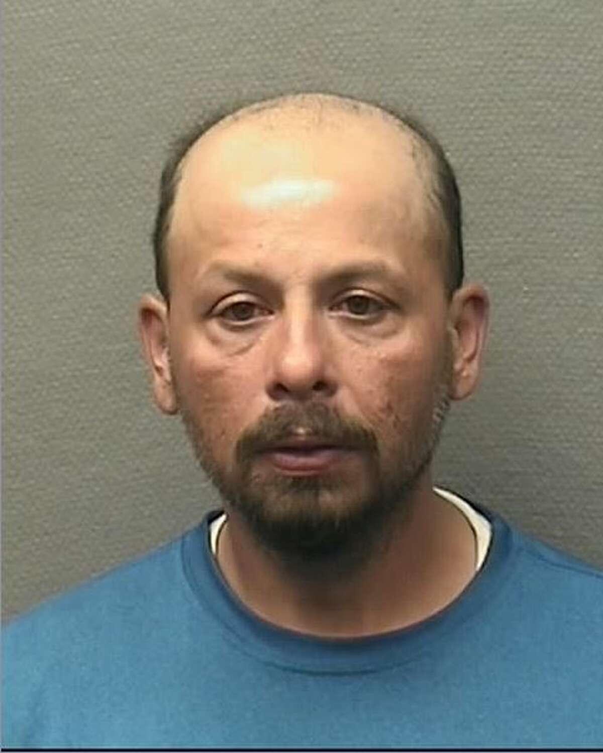 Paul Frank, 42, is charged with burglary. According to the Harris County Precinct 1 Constable's Office, Thompson was part of a scam where he posed as a tree trimmer and then robbed homes.