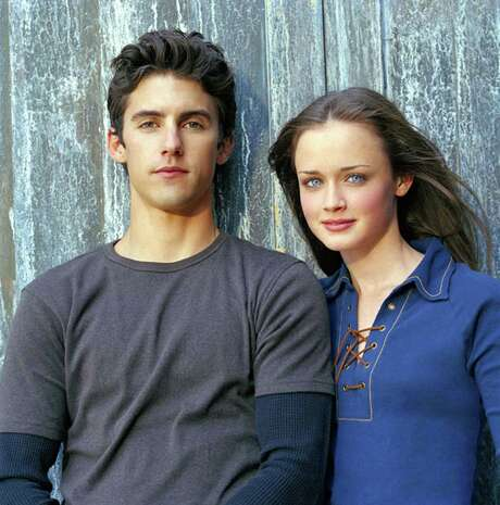 Jess (Milo Ventimiglia) and Rory (Alexis Bledel) in the original Gilmore Girls. / handout email