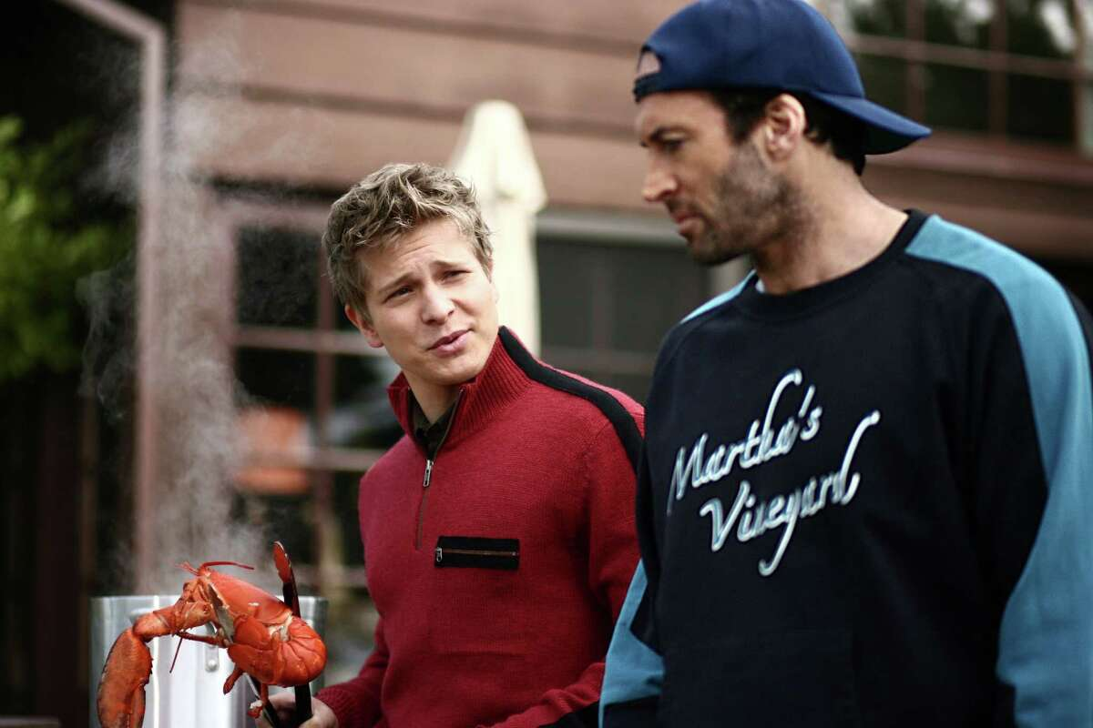 """Matt Czuchry, left, and Scott Patterson both played love interests in """"Gilmore Girls."""""""