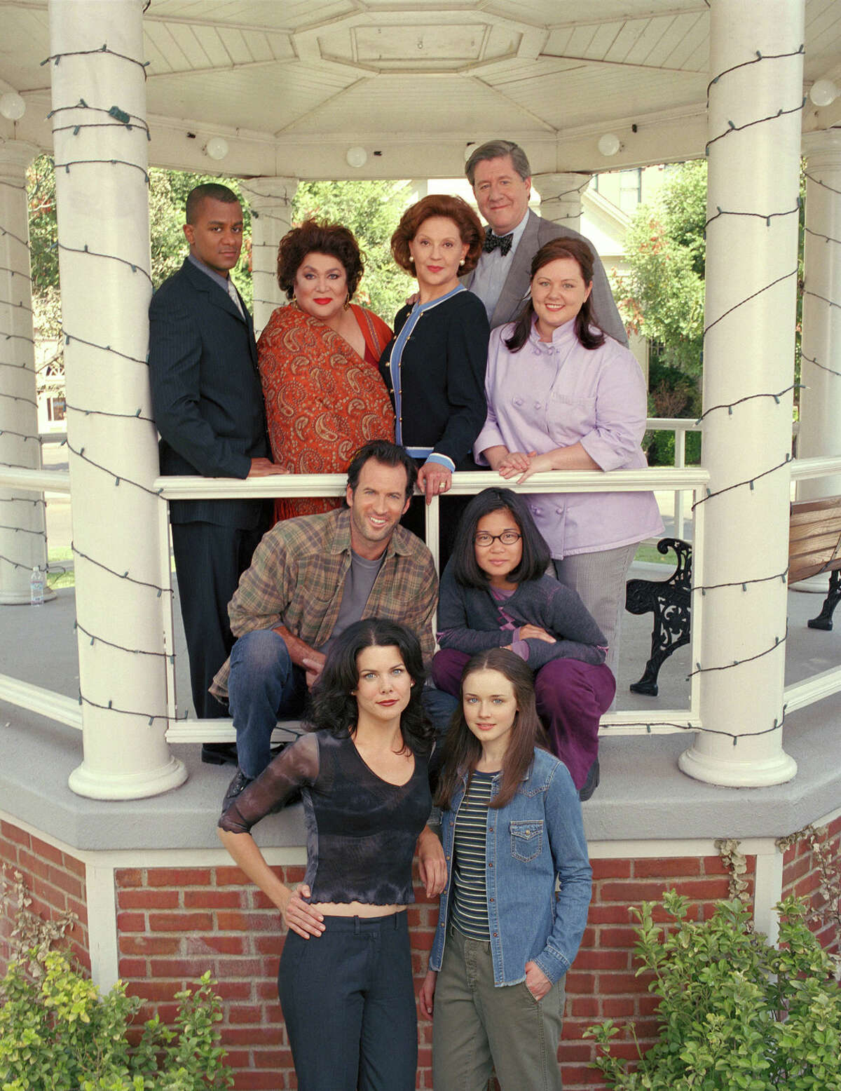 This squad rolls deep. Click through to brush up on your favorite characters from Stars Hollow.