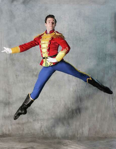"Connor Walsh danced the role of the Nutcracker Prince on opening night of Houston Ballet's new production of ""The Nutcracker."" Photo: Elizabeth Conley, Staff / © 2016 Houston Chronicle"