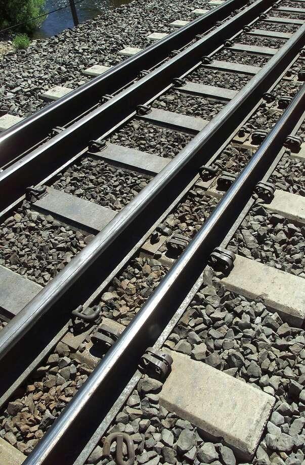 A person was killed crossing Caltrain railroad tracks in San Mateo Tuesday, officials said. Photo: MICHAEL MALONEY, SFC