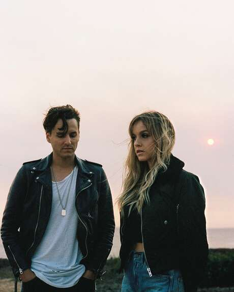 Los Angeles brother and sister duo XYLO perform at the Fox Theater in Oakland on Wednesday, Nov. 30. Photo: Courtesy