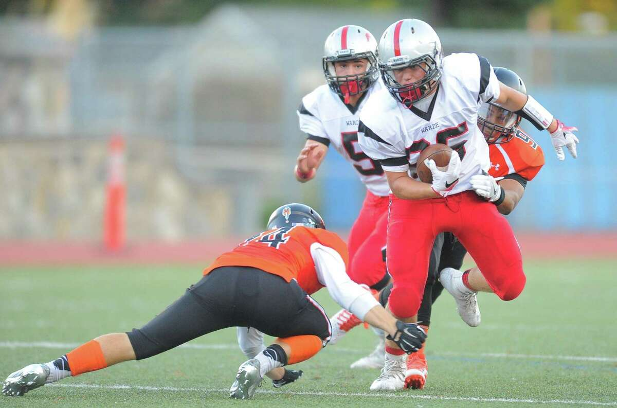 Fairfield Warde junior running back Jack Curtis has rushed for 516 yards and five touchdowns.