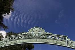 The arch of Sather Gate is seen at UC Berkeley on Wednesday, Dec. 29, 2010.