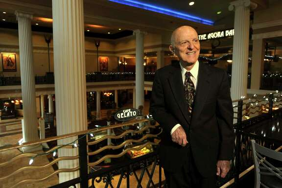 The estate of John Santikos donated more than $605 million in assets, including the Santikos Theatres chain, to the San Antonio Area Foundation. It marked the largest charitable gift in the nation in 2015. Santikos was photographed in the Palladium in 2010. He died in 2014.