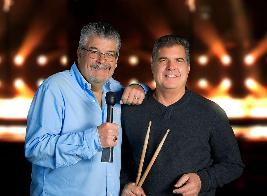 Bob Sarlatte and Joe Fonzi of Bobby Joe Russell and the All-Star Band. Photo: Courtesy Bob Sarlatte