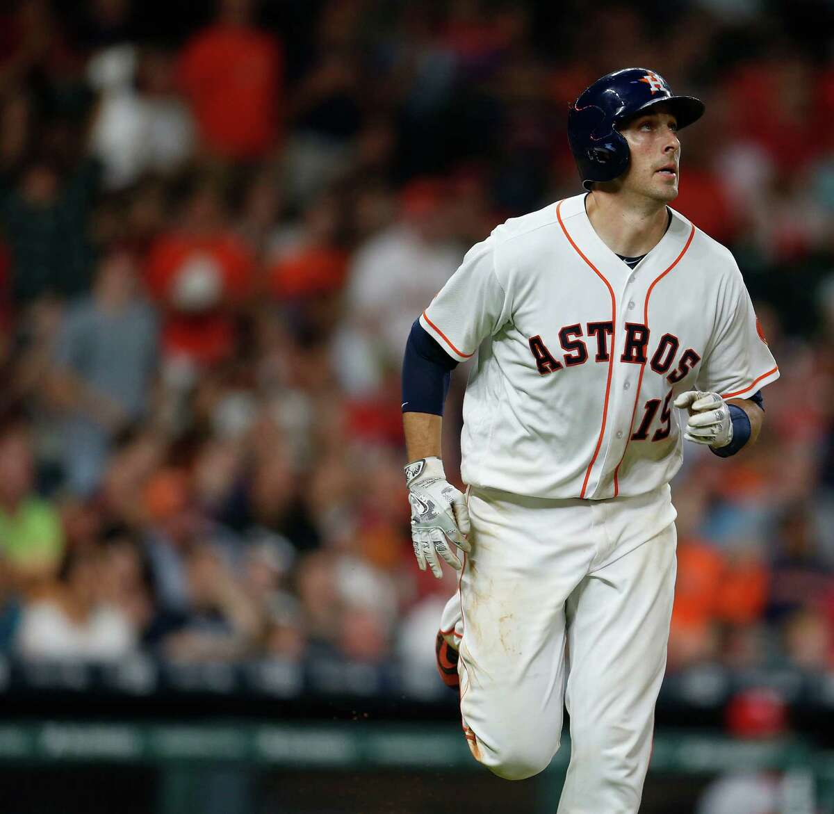 Jason Castro played six seasons with the Astros after being a first-round draft pick in 2008.