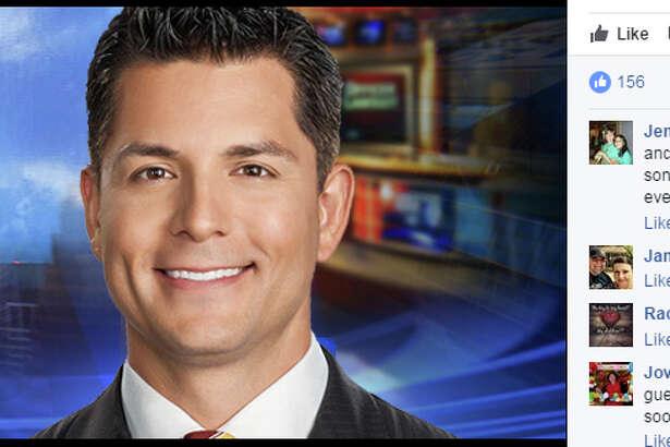 "Anchor Erik Barajas, of KTRK, won a ""Hairry Award"" for best male anchor hair in Texas, the Houston station said on Tuesday. ( Facebook  photo)"