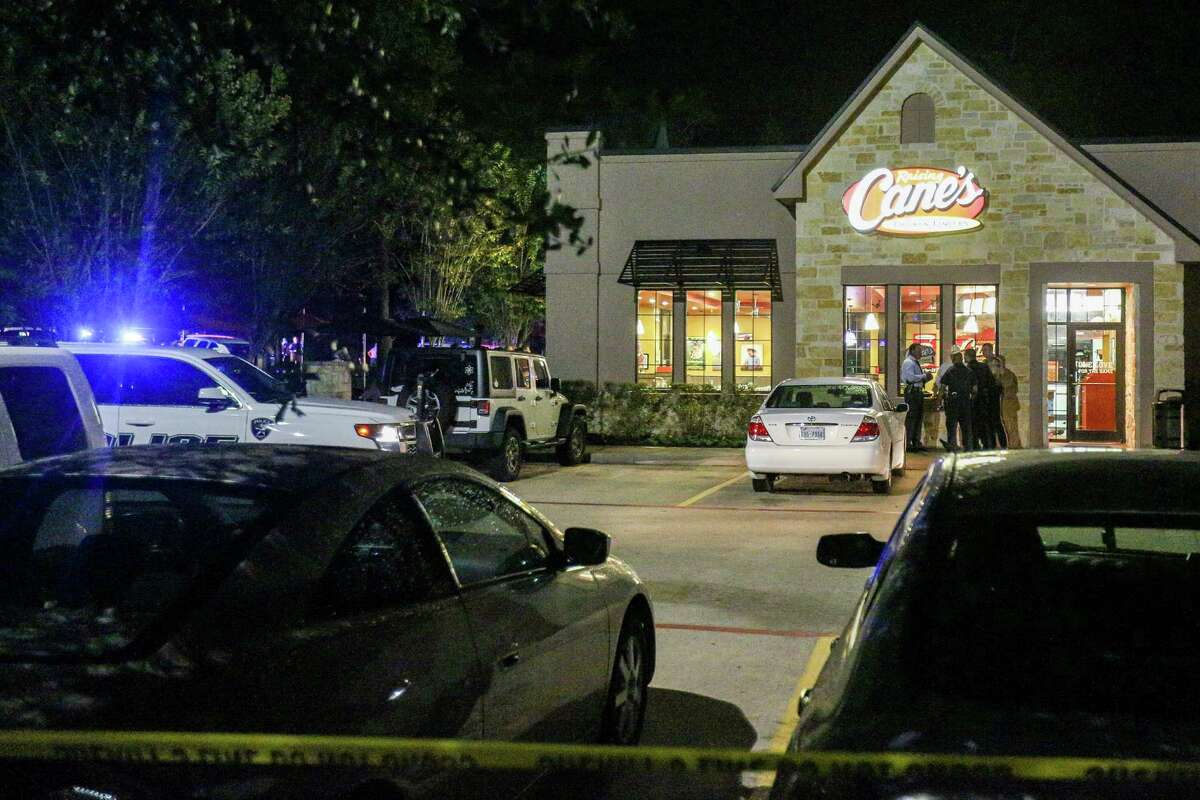 A suspect was killed during a robbery attempt at a Raising Cane's restaurant on Research Forest Drive in Shenandoah on Tuesday night.