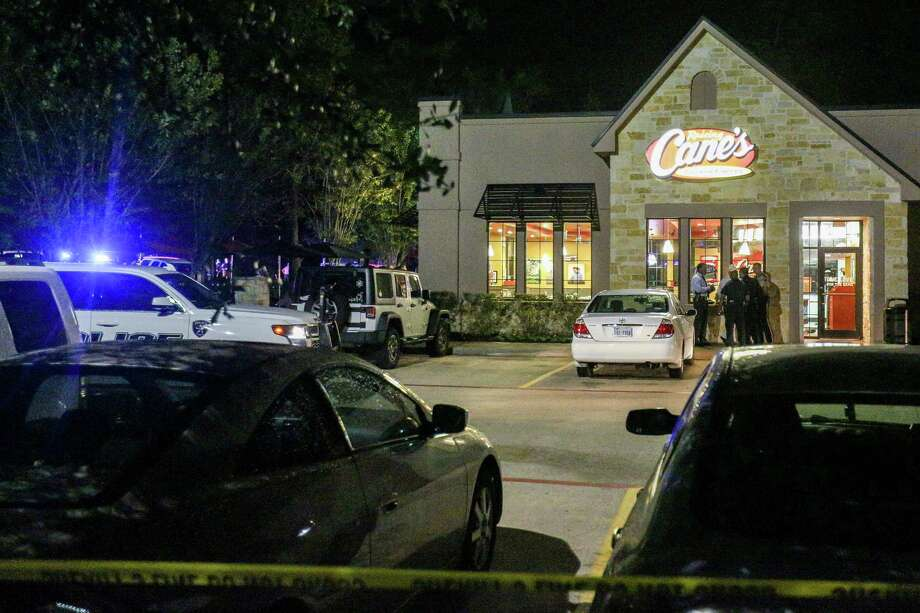 A suspect was killed during a robbery attempt at a Raising Cane's restaurant on Research Forest Drive in Shenandoah on Tuesday night. Photo: Michael Minasi, Houston Chronicle / © 2016 Houston Chronicle