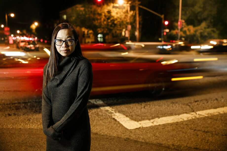Jenny Yu's mother suffered severe brain damage after being hit by a car at Anza Street and Park Presidio Boulevard. Photo: Craig Lee, Special To The Chronicle