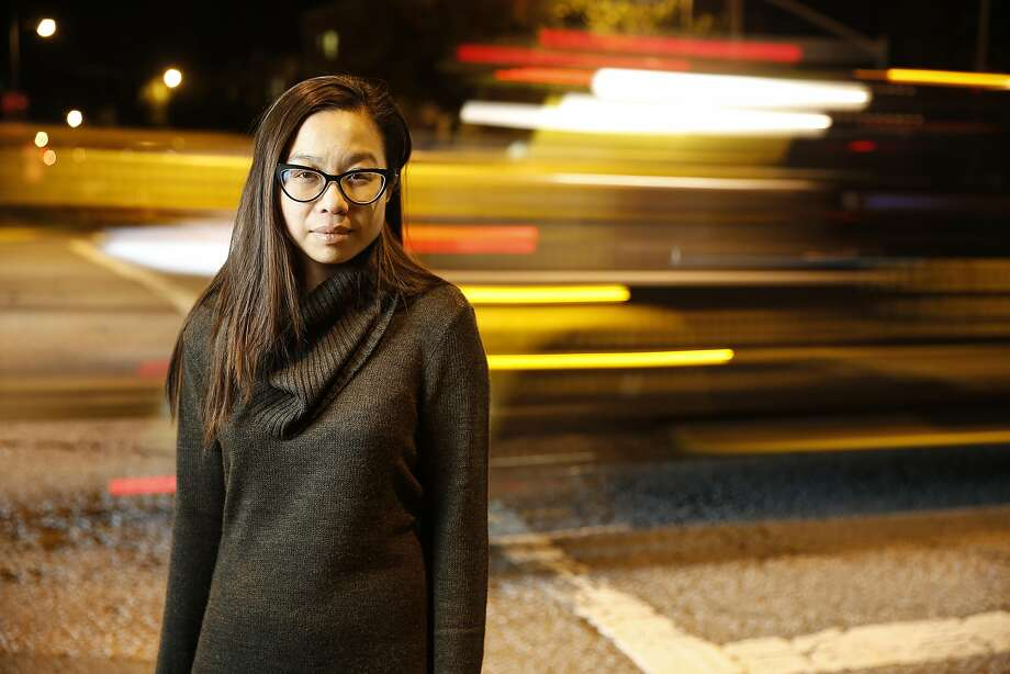 Jenny Yu, whose mother was hit by a car at Anza Street and Park Presidio Boulevard, is part of a group trying to make San Francisco's streets safer. Photo: Craig Lee, Special To The Chronicle