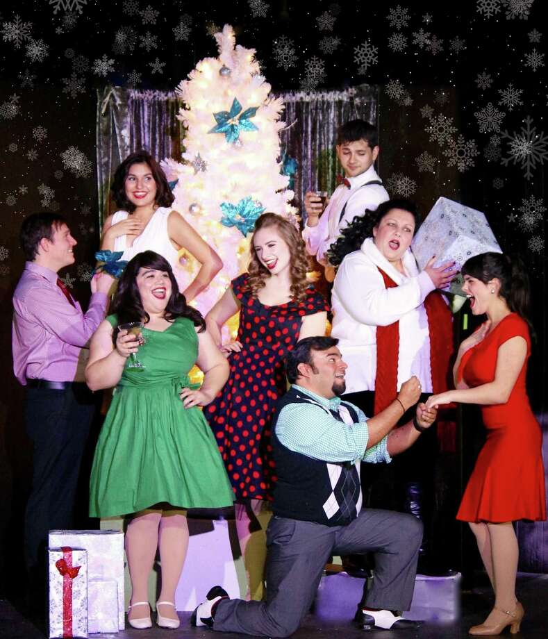 """""""Christmas Wishes"""" is The Harlequin's original holiday revue. Photo: Courtesy Photo"""