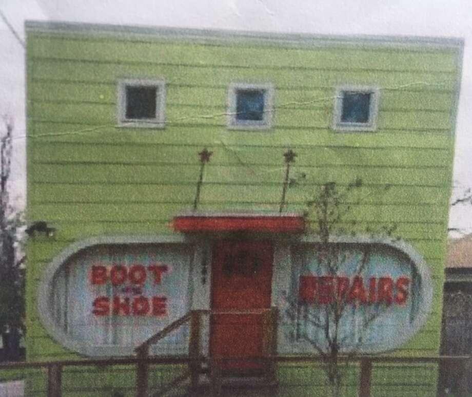A photo of Herman's, back when it was a shoe repair shop. Photo: Lucas Masllorens / Modest Digs