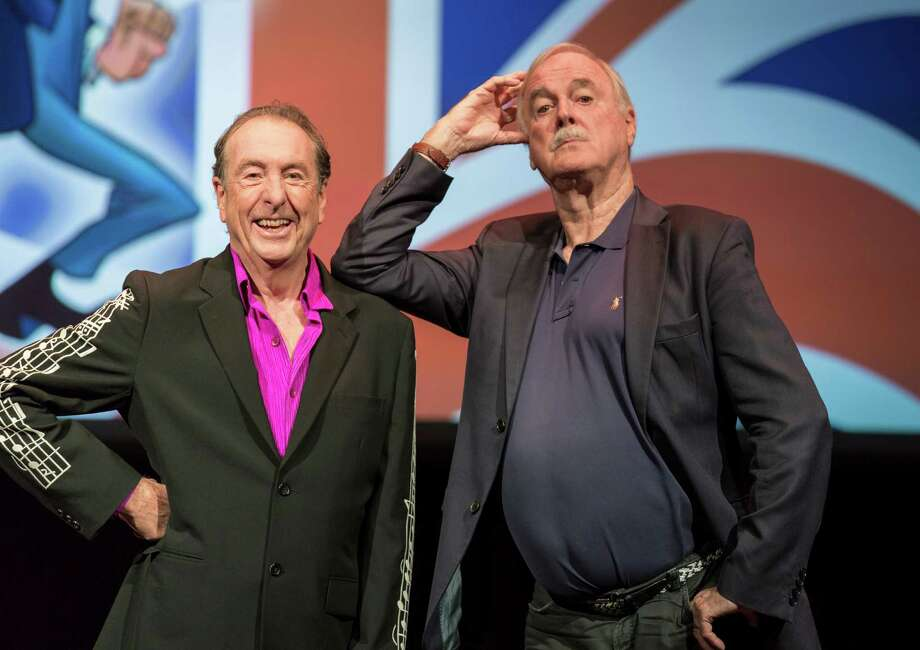 """Pioneering and hilarious British comedy legends Cleese (right) and Idle bring their unpredictable """"Together Again At Last … For The Very First Time"""" two-man show. The Monty Python icons will share stories, absurd shtick, film footage, singing and physical comedy. Older, if not exactly wiser, these two award-winning actors will delight fans of """"Spamalot,"""" """"A Fish Called Wanda,"""" """"Fawlty Towers"""" and """"The Rutles"""" (to name only a few classics), as well as newcomers.      7:30 p.m. Monday, Tobin Center for the Performing Arts, 100 Auditorium Circle. $59.50-$99.50. 210-223-8624, tobi.tobincenter.org-- Hector Saldaña  Photo: Rod Millington / Rod Millington"""