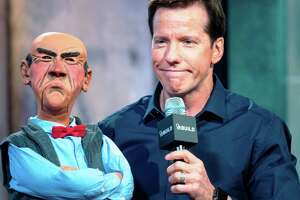 Comedian Jeff Dunham and his cranky old-guy puppet Walter attend the AOL BUILD Speaker Series at AOL Studios In New York on September 15, 2015 in New York City.