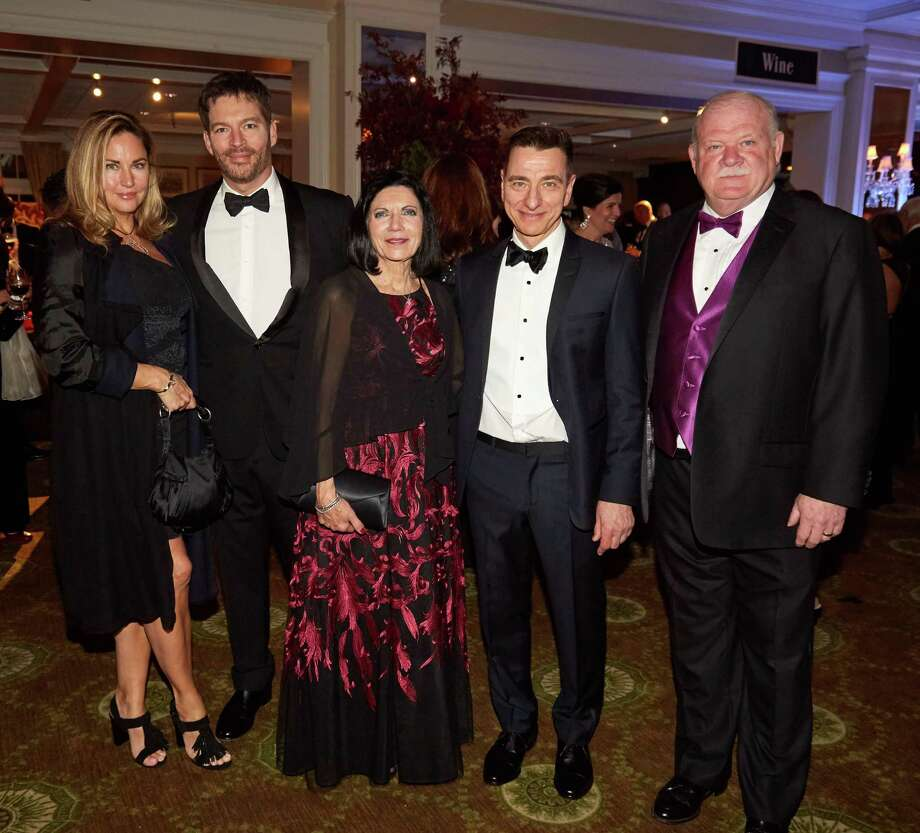 Jill Goodacre Connick, Harry Connick Jr., Carolyn Roth, James Sabetta MD, and Norman Roth Photo: / Submitted