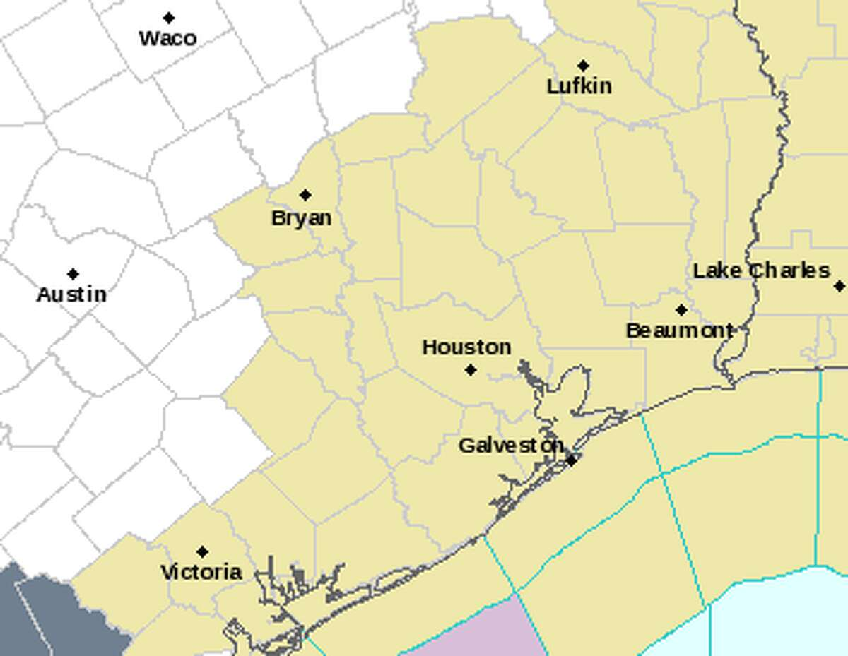 Powerful storms lashed the Houston region Wednesday, Nov. 23, 2016. (National Weather Service)